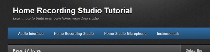 Home Recording Studios